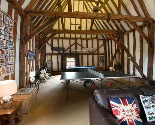 The Great Barn - Indoor Leisure Area